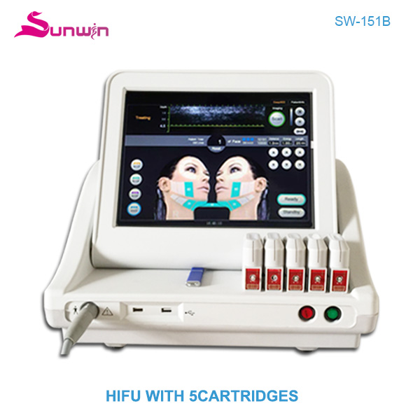 SW-151B HIFU face lifting body slimming wrinkle removal machine for beauty clinic and beauty salon - 副本